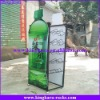 KingKara KADRS013 Green Metal Drinking Display Rack for Promotion