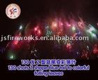 130 Shots Z Shape Cake Fireworks