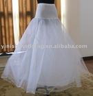 yinishi 1 hoop wedding dress peticoat/crinoline,bridal underskirt XP003