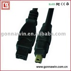 ieee 1394 cable 9p to 4p