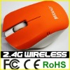 Trustful manufacturer custom 2.4Ghz wireless types of computer mouse