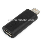 Lightning 8 Pin Male to Micro USB 5 Pin Female Charger Adapter for iPhone 5 5G