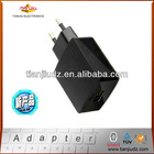 Smart USB 5V2.1A 10W EU Type Wall Charger/Adapter for Apple iPad, with CE/RoHS/GS Certifications