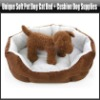 Unique Soft Pet Dog Cat Bed + Cushion Dog Supplies, YFP121A