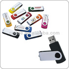 swivel shape usb flash drive 1GB to 128GB
