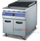 lava rock griddle with cabinet