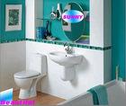 Tiles Bathroom Modern Design,Crystal Glass ,Wall Glass line,listello