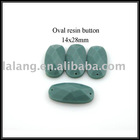 Oval Resin Button
