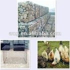 Galvanized Hexagonal Mesh For Gabion Basket