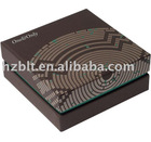 Foil block,Boutique product packaging box