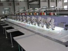 612+12 mixed cording/taping sequin towel machine