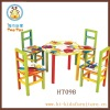 A Table and Four Chairs For Children