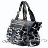 CX-H-45 Rex Rabbit Fur & Leather Tote Handbag New Arrival