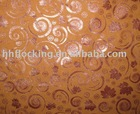 flocking wallpaper,flocked cloth,flocking cloth