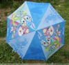 cute cartoon children umbrella