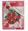 Customized Valentine/Holiday Greeting Card With Rose