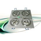 High power Aluminum shell led recessed ceiling light