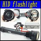 35W/45W/65W 6000LM 2KM distance HID Hunting light HID flashlight