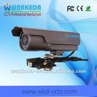 Cheap 1/3 sony ccd 420tvl 24 pieces lens 15m IR range wifi network IP camera (WKD-N1433K)