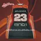 sublimation custom design basketball wear jersey
