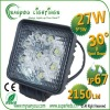hotsale light 27w high power led work lamp