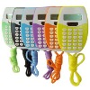 8 Digital Calculator with lanyard