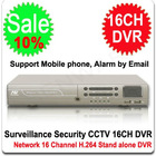 16 Channel DVR Surveillance Security CCTV H.264 16CH DVR 16 CH Stand alone Mini DVR with Network