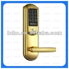 Electronic hotel card door locks