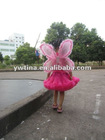 2012 Newest style top quality baby girls butterfly fairy wings/wholesale beautiful party wings