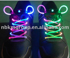 Colorfulled flashing shoelace
