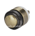 GQ16M-10 doorbell momentary type high flat head metal pushbutton switch