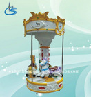 3 seats mini carousel