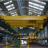 Overhead Crane with Low Level Slewing Telescopic Electromagnetic Carrier-beam