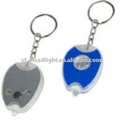 3 LED function plastic mini multi-function warning key chains