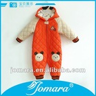 cotton zipper-up baby winter suit set wholesale