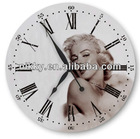 stylish appearance round shape wood clock wall,Superior quality antique wall clocks wholesale
