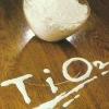Rutile grade white powder titanium dioxide (TiO2)