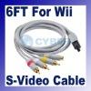 1.8m S-Video AV cable for Nintendo WII