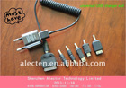 Mini universal usb charger for Samsung Galaxy tab/iphone/Nokia/LG