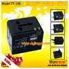 JY-148 -2 custom all in one factory adaptor charger with 2 usb charger