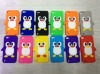 Cute cartoon Penguine silicone case for ipod touch 5
