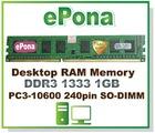 DDR3 1333 1GB Destop RAM Memory