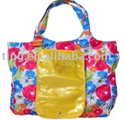 polyester promotional bag,fashion tote bag,folding shopping bag