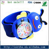 environmentally friendly silicone custom slap watch