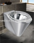 ( Discount ) Stainless Steel Wall-Hung Toilet SG-5125C-2( With CE Certificate )