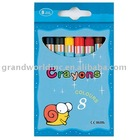 8-piece Color Crayon Series