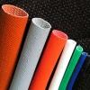 Self-extinguishable fiberglass sleeving coated silicon resin