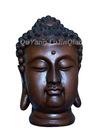 bronze buddha head sculpture