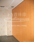 Laminate MDF wall panel with melamine decor paper -wearable surface