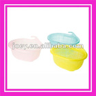 Multi-purpose cleaning sieve/plastic wash rice /fruit/vegetable washing sieve container8038